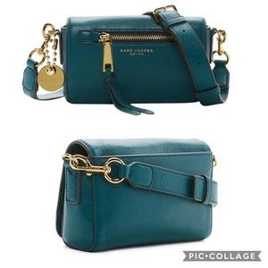 Marc Jacobs Recruit Crossbody Bag teal green